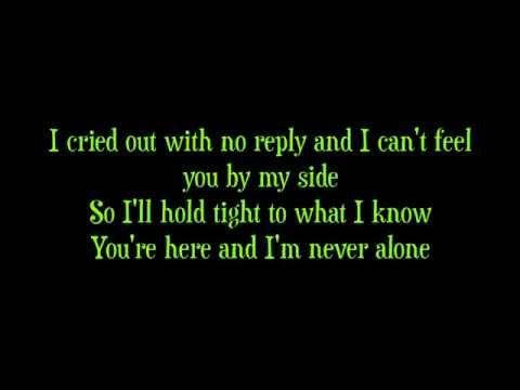 Never Alone by Barlowgirl LYRICS