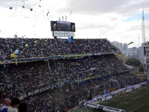 Video - Superclasico Boca-River 19/04/09 Salida de Boca - La 12 - Boca Juniors - Argentina