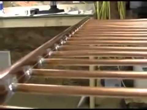 comment construire un panneau solaire thermique