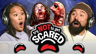 Video TRY NOT TO GET SCARED CHALLENGE (REACT) MP3, 3GP, MP4, WEBM, AVI, FLV Agustus 2018