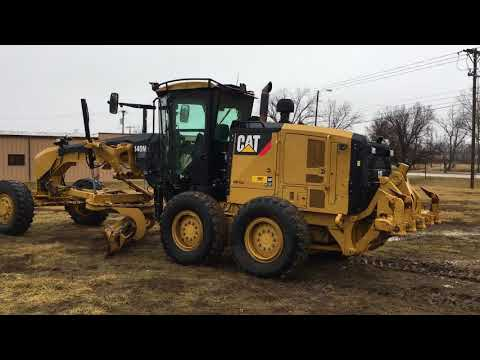 CATERPILLAR モータグレーダ 140M2AWD equipment video ykFPJNKTOTA