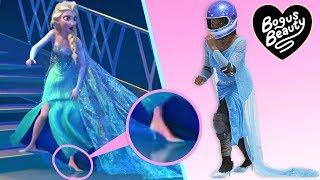 Video I Tried Running On Ice In Heels Like Elsa In Frozen MP3, 3GP, MP4, WEBM, AVI, FLV Januari 2019