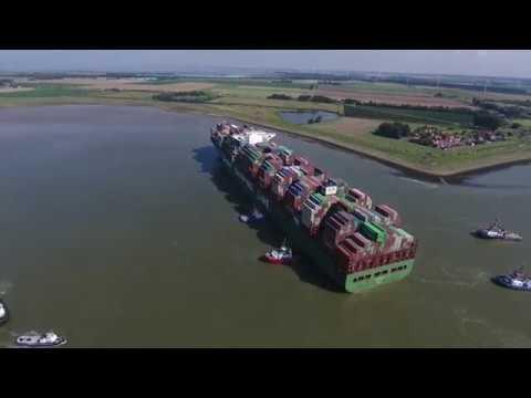 На мели: 366-метровый контейнеровоз заблокировал вход в порт Антверпен - Центр транспортных стратегий