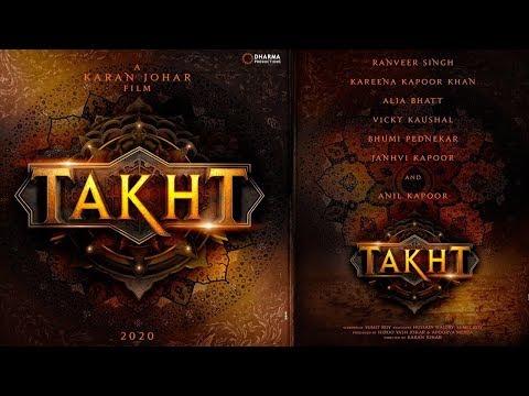 Karan Johar's Takht | Ranveer Singh, Kareena Kap