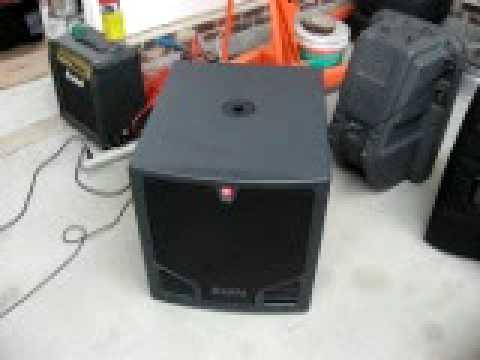 JBL EON 500 series sub 18