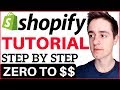 Shopify Tutorial For Beginners 2018  How To Create A Profitable Shopify Store From Scratch