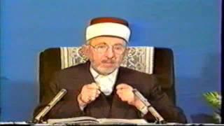 9- دورة مختصرة في العقيدة   العلامة البوطي   ثمرة العقيدة الإسلامية في كيان الإنسان