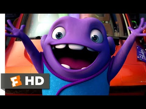 Home (2015) - The Slushious Scene (1/10) | Movieclips