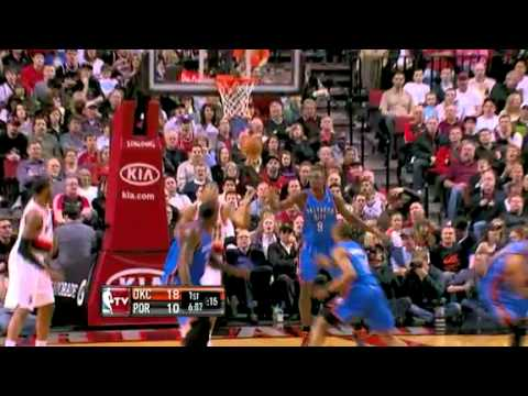 Wesley Matthews to LaMarcus Aldridge against Thunder