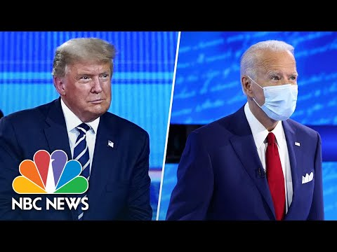 Highlights From Trump And Biden's Dueling Town Hall Events   NBC News