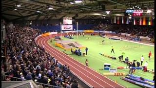 Genzebe DIBABA 4:02.25 - 1500m IAAF Indoor Karlsruhe MIR-LA.com