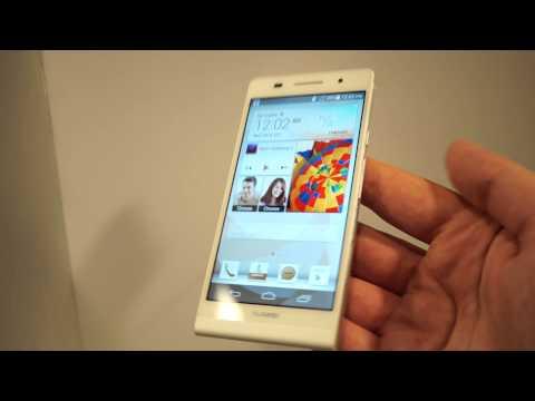 Huawei Ascend P6, hands-on la lansare