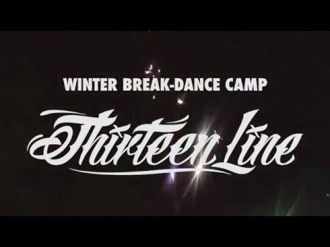 Зимний брейк-данс лагерь THIRTEEN LINE