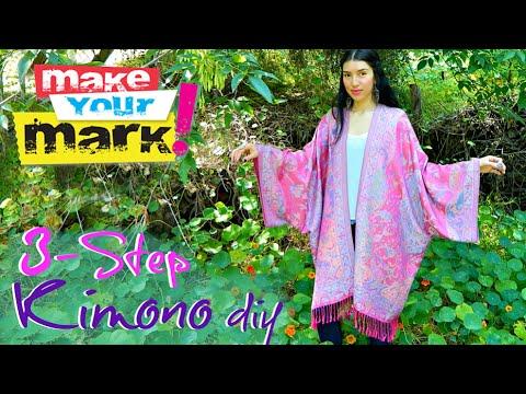 3-Step Kimono
