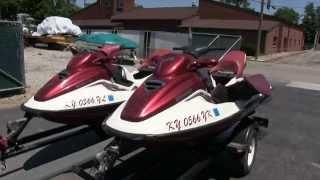 6. 1998 & 1999 Sea Doo GTX Limited jet skis walk-through video