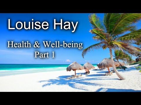 well being - http://www.love-your-essence.com/healing Louise Hay (born October 8, 1926) is a motivational author, and the founder of Hay House, a publishing company. She ...