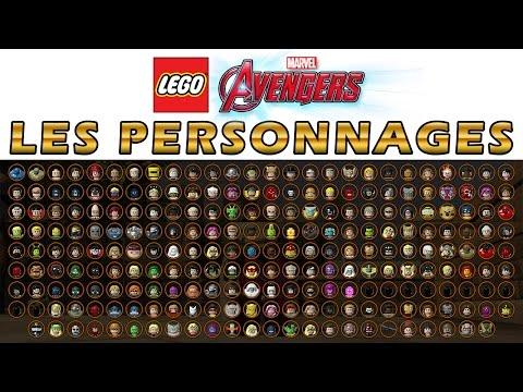 LEGO Marvel Avengers - Les Personnages