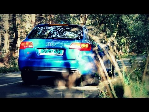 Audi S6 5.2 V10 Review - English Subtitled - www.hartvoorautos.nl