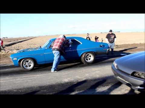 Chevy Nova vs. Nissan Skyline R32