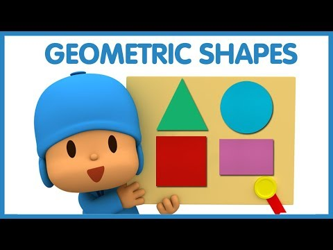 Learn Shapes with Pocoyo   Educational Video For Children