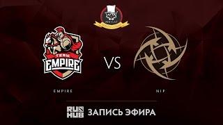 Empire vs NiP, Mr.Cat Invitational, game 1 [Adekvat, Mila]