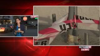 Revelan video de seguridad de carro estrellado- Noticias 62  - Thumbnail