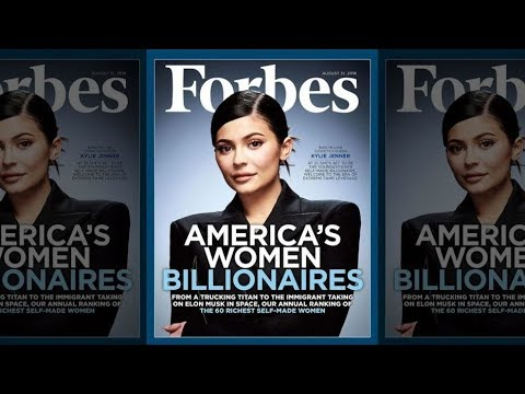 KYLIE JENNER - YOUNGEST FEMALE BILLIONAIRE??