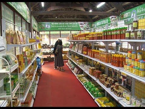 Lào Cai triển khai các điểm bán sản phẩm OCOP