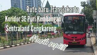 Video RUTE BARU TRANSJAKARTA||Trip Report Koridor 3E MP3, 3GP, MP4, WEBM, AVI, FLV September 2018
