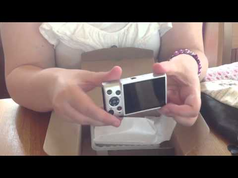 Cannon Ixus 132 unboxing