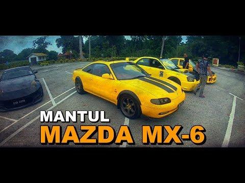Mazda MX 6 Geng Kuning | RARE