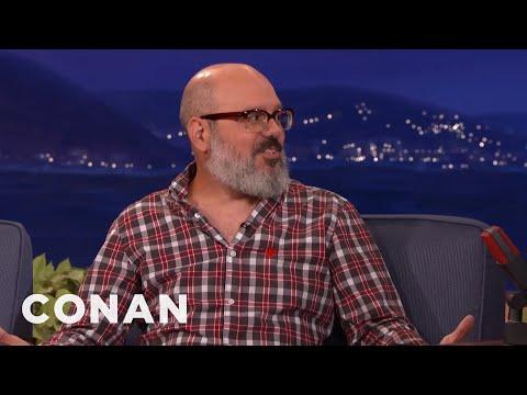 "David Cross' Network TV Debut On ""Late Night"" Was Censored  - CONAN on TBS"