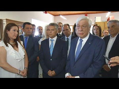 Μήνυμα ενότητας έστειλε ο Πρόεδρος της Δημοκρατίας από τη Ζαγορά του Πηλίου