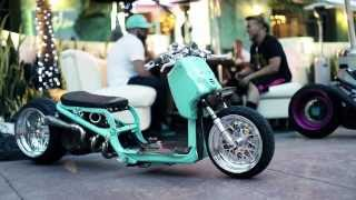 8. DORBYWORKS custom Honda Ruckus Minty version 2