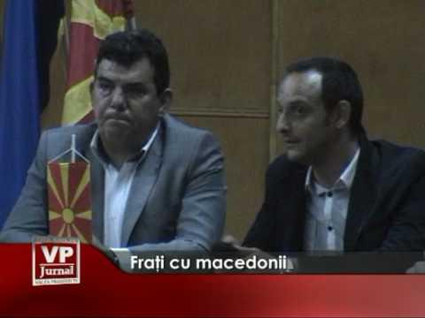 Fraţi cu macedonii