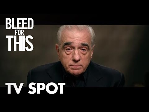 Bleed for This (TV Spot 'Martin Scorsese')