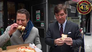 Barstool Pizza Review - Ninos 46 With Special Guest Tucker Carlson