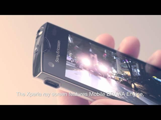 Xperia ray - design and inspiration