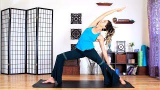 Video Intermediate Yoga - 30 Minute Full Body Power Vinyasa MP3, 3GP, MP4, WEBM, AVI, FLV Maret 2018