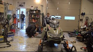 4. 2013 Skidoo Freeride 154  weigh in at PowerModz!
