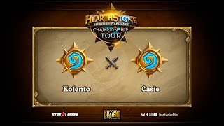 Casie vs Kolento, game 1
