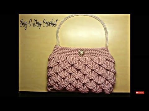 crochet clutch purse tutorial DIY purse DIY handbag Make handbags Purse Ideas Fun Crochet
