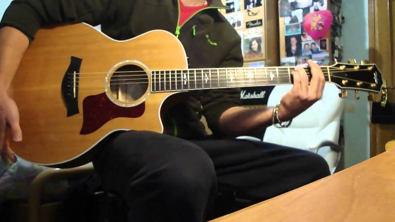 "James Morrison – Coolio Featuring ""Gangsta's Paradise"" Guitar Acoustic cover + solo improvisation"