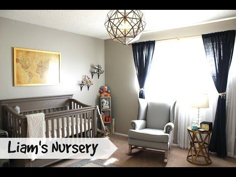 Liam's Nursery Tour #BabyBumpSeries Ep.6