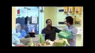 Ethiopian man pranked in a supermarket