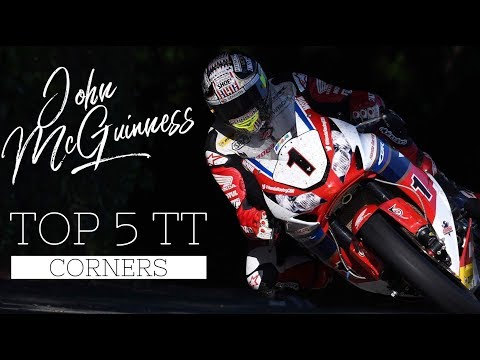 McGuinness' Top 5 Isle of Man TT corners