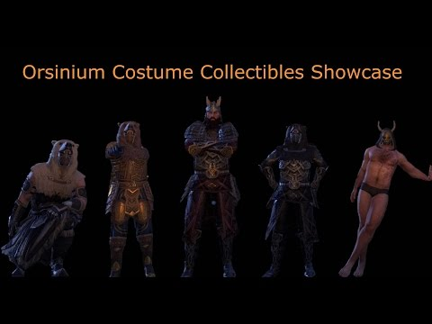 Orsinium Costume Collectibles Showcase