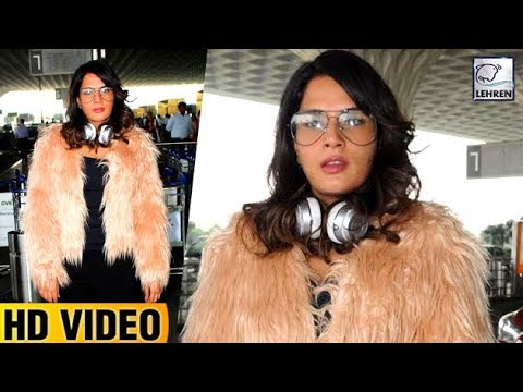 Richa Chadda's Fashion BLUNDER At Airport