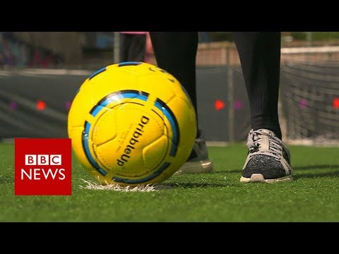 Can technology make you a better footballer? - BBC News