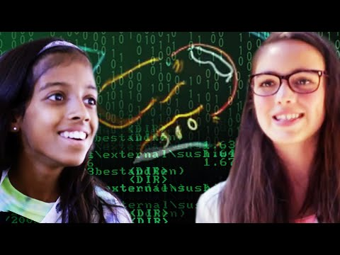 code - We're launching a new series about a Summer camp...just for girls! We follow teen girls who are breaking the code, literally, and being part of a movement that has been mostly been for...